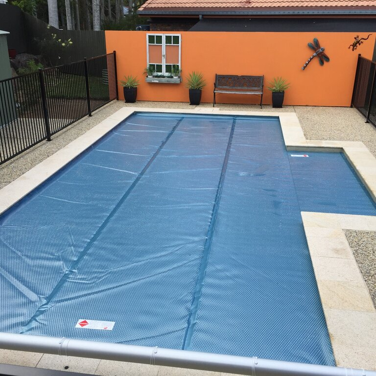how to use solar pool cover