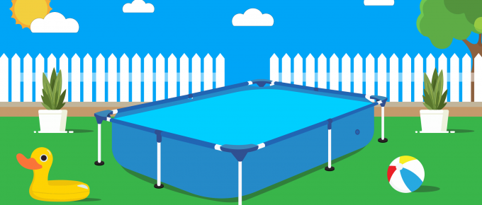 rectangular above ground pool
