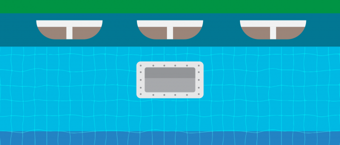 how to install butterfly gasket on pool skimmer